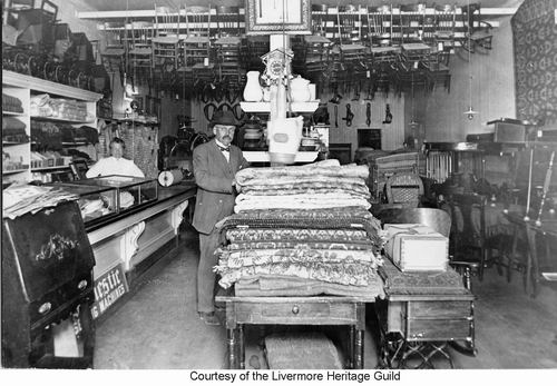 Theo Gorner Store. Dry Goods U0026 Furniture. Store Was Located On North Side  Of 1st St. Between J U0026 K Streets, In The IOOF Building. There Is Still A  Plaque In ...
